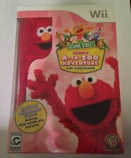 Sesame Street: Elmo's A-to-Zoo Adventure - The Videogame Nintendo Wii New