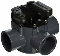 """3 Way Port PVC Diverter Valve 2"""" Plumbing For Swimming Pool and Spa 263028"""