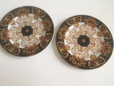 2 Versace Rosenthal Barocco Bread and Butter plates, Made in Germany.