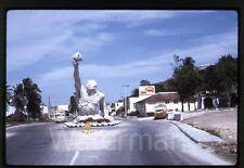 1970 kodachrome photo slide  Mexico   Campeche  street scene Carta Blanca sign