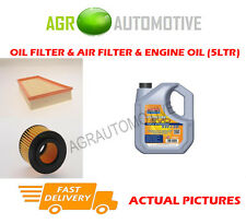 PETROL OIL AIR FILTER KIT + LL 5W30 OIL FOR SKODA FABIA 1.2 54 BHP 2004-07