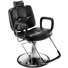 Reclining Hydraulic Barber Chair Salon Shampoo Hair Styling Beauty Spa Equipment