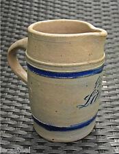 pichet ancien d'1 demi litre - grés d'alsace - alsacien