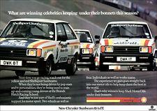 SUNBEAM TI Motorsport coureurs rétro A3 Poster Print de classique 70's annonce