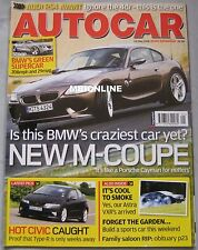 Autocar 24/5/2006 featuring Audi RS4, BMW Z4M Coupe, Land Rover, Mercedes