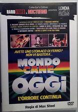 MONDO CANE OGGI - Stelvio Massi DVD OOP