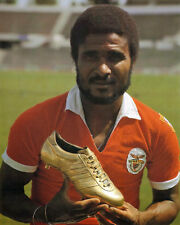 "Eusebio ""The Black Panther"" - Benfica 8x10 Color Photo"