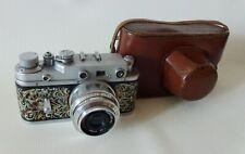 Zorki2S 2C Russian Rangefinder camera copy LEICA35mm INDUSTAR-50 3.5/50 art deco