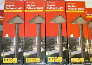 5 MALIBU Skyline Pathway Lights 10w Low Voltage Landscape AGED BRASS Brown METAL