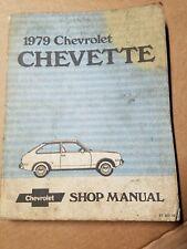 1986 Chevrolet Chevette Shop Service Manual ST-357-86 Guide Book W641