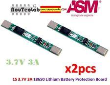 2pcs 1S 3.7V 3A 18650 li-ion BMS PCM battery protection board lithium battery