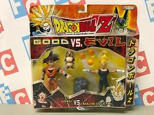 DBZ Jakks Bandai Dragon Ball Z 2 Packs Good vs Evil Goku Majin Vegeta Figures