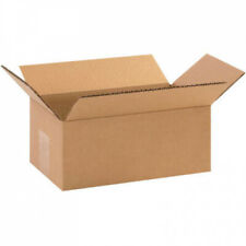 10x6x4 Pack of 25 Shipping Packaging Cardboard Corrugated Boxes For Mailing