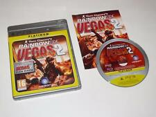 SONY PLAYSTATION 3 / PS3 ~ TOM CLANCY'S RAINBOW SIX VEGAS 2 (Versione Platinum)