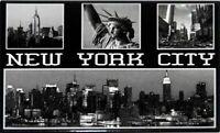 New York City Estatua de la Libertad Imperio Recuerdo Imán Fridge, 4 de Vista