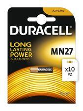10 pz Batterie Duracell MN27