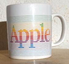 Rare Authentic Vtg 1980's Apple Macintosh Coffee Mug Coloroll Made in England