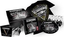 Scorpions Return To Forever Box Set 3 CD lanyard 7 inch shirt  new