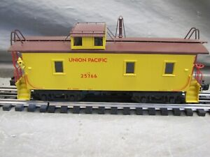 Sunset Models O Scale CA-1 Wood Caboose UP Yellow