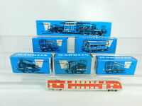 BQ70-0,5# 6x Märklin H0 Leerkarton für Güterwagen etc: 4644+4508+4617+4619+4600