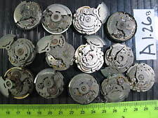 - 13pc Vintage SEIKO Automatic Gents MOVEMENT 6309 & 7009 Parts Watch AsIs A1.26