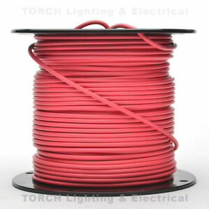 100 Feet RED 12AWG 600V  INS PHOTOVOLTAIC PV Solar Wind Power Cable Wire Wet Dry
