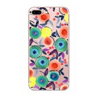 Cute Soft TPU Fruit Print Summer Clear Colorful Case Cover For iphone 5 6 7 plus
