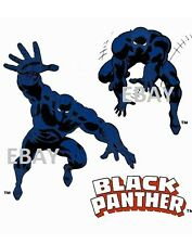 Vintage Marvel Style Guide Print - Avengers - BLACK PANTHER