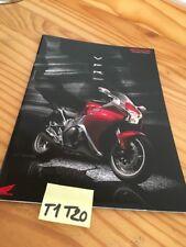 Honda VFR1200F VFR 1200 F VFR1200 prospectus brochure catalogue catalog prospekt