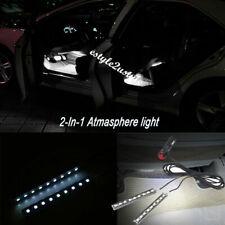 Car 12V LED Interior Footwell Decorative Atmosphere Lamp Light Cigarette Lighter