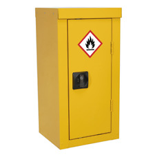 More details for fsc06 sealey flammables storage cabinet 350 x 300 x 705mm [cabinets]