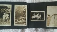 Vintage 1930s Photo Album 30 Photos DC area Capital Family Dogs Children