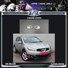 FITS TO NISSAN QASHQAI CHROME FOG LIGHT COVERS HIGH QUALITY 2010-2015 OFFER NEW