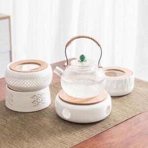 Ceramic Teapot Warmer Holder Base Tea Warmer Insulation Base Tea Coffee Teaw.AU