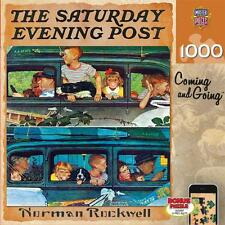 1000 SATURDAY EVENING POST JIGSAW PUZZLE COMING AND GOING NORMAN ROCKWELL #71508