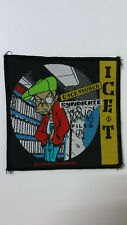 Ice T Syndicate Files Uncensored Vintage rap hip hop artist Sew On patch music
