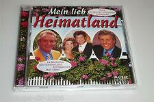 MEIN LIEB HEIMATLAND CD MIT GÜNTER WEWEL HERMANN PREY EVA MARIA VICO TORRIANI
