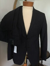 NWT Banana Republic Charcoal GrayPlaid Modern SlimFit Suit Jacket 38S Pant31x32