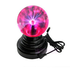 "USB Battery Powered Mini Plasma Ball 3"" Inch Tesla Lamp Desk Office Fun Toy Gift"