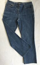 "DAVID LAWRENCE Women's Jeans size 12 Blue Denim waist= 31"" Stretch Ladies"