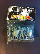 1/32 Scale Or 54mm Modern Soviet Spetnatz Type Plastic Soldiers