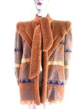 Rare Vtg Escada Women's Superkid Mohair Cardigan Jacket Cape Coat  EU 38 UK 10