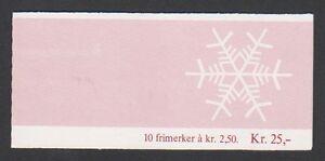 Norwegen - 1985, Weihnachten Broschüre Von 10 X 2k50 Briefmarken - MNH - Sg SB74