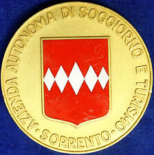 Placca Badge Premio Sorrento Automobile Club Napoli 1^ Parata Eleganza #KG395