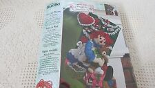 Vtg PLAID BUCILLA RAGGEDY ANN CHRISTMAS MORNING 86236 Felt Stocking NEW/SEALED