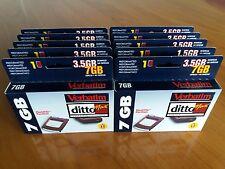 10ud Cartucho Verbatim DittoMax 7Gb nuevos, new!!!