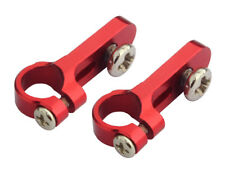 Aluminum Tail Servo Mount Round (RED) (for MH-DS002S/102S)