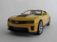 Welly Camaro ZL 1  / Gelb / Rückzugmotor/Druckgussmodel / 1:39 / OVP / Neu