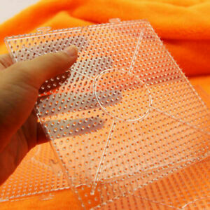 4PCS ABC Clear Square Large Pegboards Board for Hama Fuse Perler Bead 145x145mm