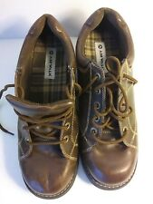 Airwalk Woman's Boots Size 11 Brown Leather Laces